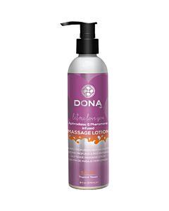Dona parfumée lotion de massage 235 ml sassy