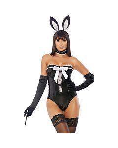 Disfraz voila sexy rabbit - negro