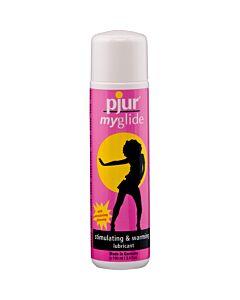 Pjur lubrifiant stimulant effet Myglide chaleur 30 ml