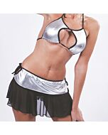 Cheerleader costume gris