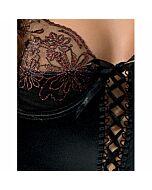Passion brida corset negro l/xl