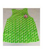 costume femme coeurs verts