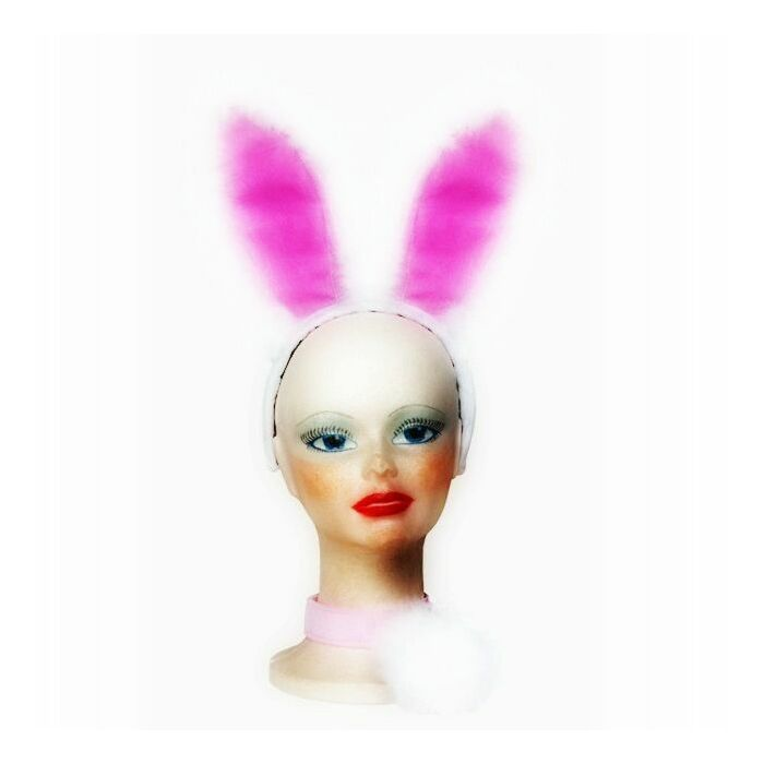lapin blanc Sexy en Septembre (3 pièces)