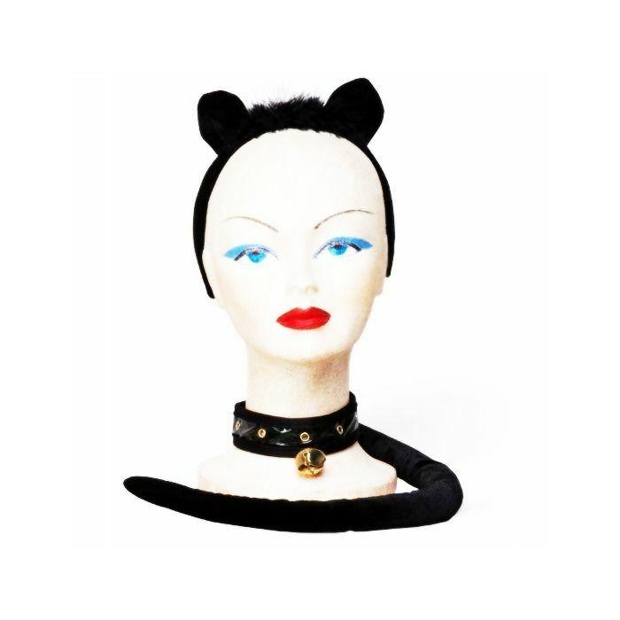 Sexy chaton noir en Septembre (3 pièces)