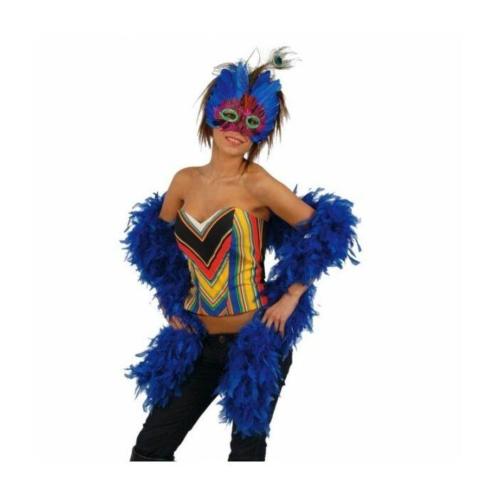 plumes Boa azul183 cm